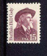 293663680 USA 1988 ** MNH SCOTT 2177b 2177 B GREAT AMERICANS BUFFALO BILL CODY - Neufs