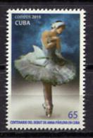Cuba 2015 / Classic Ballet Dancing MNH Danza Baile Clasico / C10131  1 - Baile