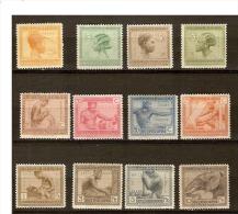 Belgian Congo - 106/117 - 88/111 - Vloors - 1923 - MNH & MH