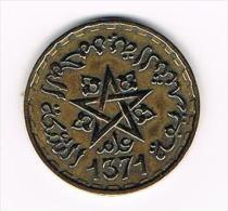 ¨  MAROKKO  20  FRANCS  1371 - Maroc