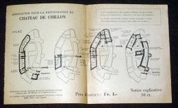 Vieux Papiers - Suisse Vaud Château De Chillon  Ticket D'entrée - Tickets - Vouchers