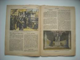 LE PELERIN 2496 de 1925. A PARIS, FRITERIE AMBULANTE. LA POLOGNE CATHOLIQUE. ARCHEVEQUE DE BELGRADE ; MGR. RODITCH.....