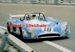 Photographie De La Matra MS670 Aux 24H Du Mans De 1972 - Reproducciones