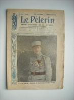 LE PELERIN 2148 de 1918. L'AS DES AS FRANCAIS, LE LIEUTENANT-AVIATEUR FONCK. L'AFFICHE DE LA LIGUE MARITIME FRANCAISE.