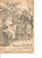 La Berceuse Du Violoneux. Théodore Botrel. - Partitions Musicales Anciennes