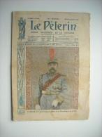 LE PELERIN 2104 de 1917. GENERAL LI YUAN HUNG, PRESIDENT REPUBLIQUE DE CHINE. CHARRETTES AMBULANCES TRAINEES PAR CHIENS.