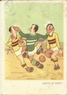 SPORT CALCIO  Illustrata Nino P. Gioco In Casa - Fussball