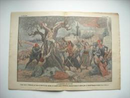 LE PELERIN 2139 de 1918. ARMENIE MARTYRE; A TREBIZONDE,TURCS CRUCIFIENT NOMBREUX ARMENIENS. AMERICAINS GORGE DU SIERROX.