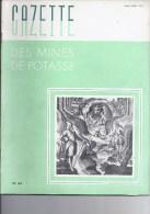 Gazette des mines de Potasse -1952 Mars - Avril n�64