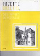 Gazette des mines de Potasse -1952 Mai -Juin�65