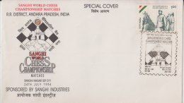 India  1994  Chess  Championship  Special Cover   # 87817  Inde  Indien - Chess