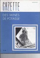 Gazette des mines de Potasse -1952 Juillet - aout N�66