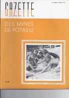Gazette des mines de Potasse -1952 Septembre - octobre N�67