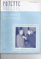 Gazette des mines de Potasse -1952 Novembre - d�cembre N�68
