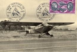 PIPER SUPRE CUB L 18 C AVIATION MONT DE MARSAN BASE AERIENNE - Non Classés