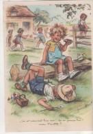 Illustration Germaine Bouret - 15 X 21 Cm -  On Est Rudement Bien Ici - Bouret, Germaine