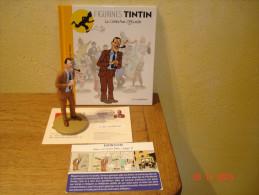 EDITION MOULINSART     JM DAWSON LE POLICIER VEREUX DANS TINTIN EN AMERIQUE - Tintin