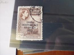 GHANA TIMBRE OU SERIE YVERT  N°3 A - Ghana (1957-...)