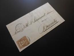 CH ZNr.22  5C  Sitzende Helvetia 1859 - 1854-1862 Helvetia (Imperforates)