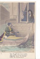 25423 Venise -gondole Couple Amoureux Costume Italia Venezia Mandoline -DP-2- Ciel Belle Etoiles - Couples