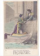 25424 Venise -gondole Couple Amoureux Costume Italia Venezia Mandoline -DP-3- Nuit Propice Serments - Couples