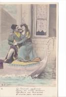25425 Venise -gondole Couple Amoureux Costume Italia Venezia Mandoline -DP-4- Brise Senteurs Ivresse - Couples