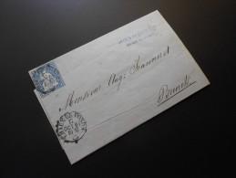 CH ZNr.23  10C  Sitzende Helvetia 1861 - 1854-1862 Helvetia (Imperforates)