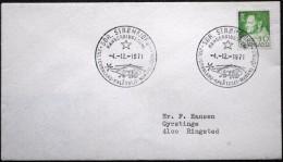 Greenland  Special Cancel Cover 1971 Christmas Postmark SDR. Strømfjord      ( Lot  5970 ) - Groenlandia