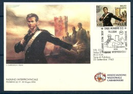 SALVO D'ACQUISTO CARABINIERI Cartolina Con AS - Uniformi