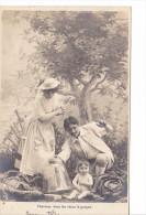 25428 Enfant Epoux Amoureux Couple Choux Jardin Rose Fillette -AS Paris -2-cheerchez Garcon -cloche - Enfants