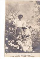 25430 Enfant Epoux Amoureux Couple Choux Jardin Rose Fillette -AS Paris -4 Roses Fille - Enfants