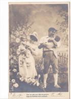 25431 Enfant Epoux Amoureux Couple Choux Jardin Rose Fillette -AS Paris -5 Fille Garcon Bonheur Maison - Enfants