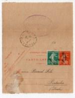 1918 - CARTE LETTRE Avec CACHET HOTEL ST GEORGES DE DIDONNE (CHARENTE MARITIME Avec REPIQUAGE MAISON PERNOD FILS (DOUBS) - Entiers Postaux
