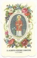 Santa Alberta Vergine E Martire - 6 Ottobre - Santini
