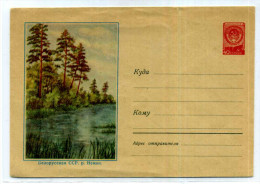 ARBRE / FORET  / RIVIERE  / ENTIER POSTAL RUSSIE / STATIONERY URSS - Trees