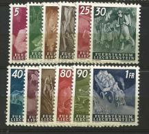 1951 MH,  Liechtenstein - Liechtenstein