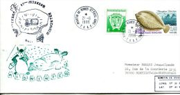 N°297 B -enveloppe TAAF -cachet Midwinter 1996 - Covers & Documents