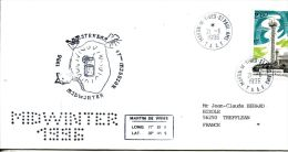 N°298 B -enveloppe TAAF -cachet Midwinter 1996 - Covers & Documents