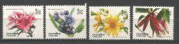 Thailand Mint MNH 4v Stamp, 1992 : Fleurs Diverses ** / Various Flowers