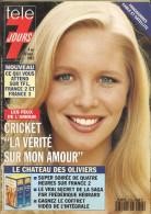Télé 7 Jours N° 1736 - Semaine Du 4 Au 10 Sept 1993 - Les Feux De L'amour, Aleksandra Lorka, Casimir, Hélène, G. Oury - 1950 - Nu