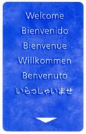 Welcome. Bienvenido. Bienvenue. Willkommen. Benvenuto. Www.locinternational.com. Loc International. - Cartes D'hotel