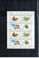 Makedonien / Macedonia 2001 Michel 215-18 Kleinbogen / Sheet Of 9  Postfrisch / MNH - W.W.F.
