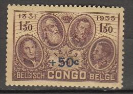 Congo : ocb nr   192 ** MNH (zie  scan als voorbeeld )