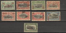 Congo : ocb nr   TAXES lot uit  1921 * MH (zie  scan )