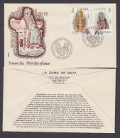 SPAIN ESPAGNE 1974 SPECIAL POSTMARK EUROPA. ARCHEOLOGY. IBERIAN SCULPTURES. IBERIAN CULTURE - Archaeology