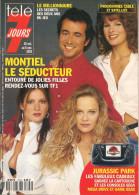 Télé 7 Jours N° 1744 - Semaine Du 30 Oct Au 5 Nov 1993 - Bernard Montiel, Liane Foly, Michael Jordan, Cyrielle Claire - 1950 - Nu