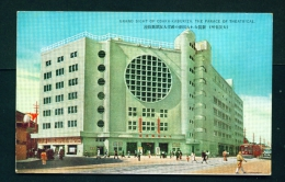 JAPAN  -  Osaka  Palace Of Theatre  Unused Vintage Postcard As Scan - Osaka