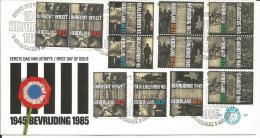 Niederlande FDC  1270-1273 - Period 1980-... (Beatrix)