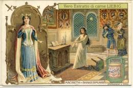Liebig 1905 Sanguinetti N. 835 Protagoniste Di Opere Celebri. Macbeth (Italia) Serie € 25 - Liebig