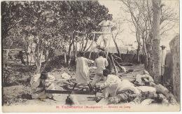 89 Tananarive Scieurs De Long Sawyers Chantier Travail Du Bois - Madagascar